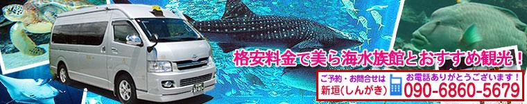 ジャンボタクシー美ら海水族館プラン